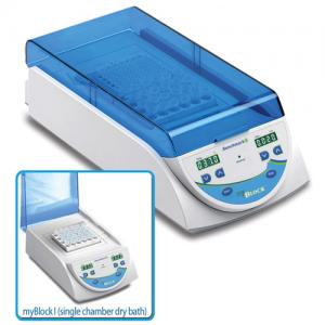 MyBlock™ Digital Dry Bath, single or dual chamber