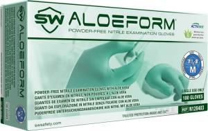 AloeForm Nitrile ACTIValoe Powder-Free Exam Gloves