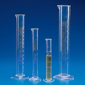 Graduated Cylinder, Molded Graduations