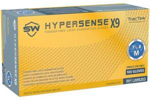Hypersense X9 High Performance Grip Latex Exam Gloves