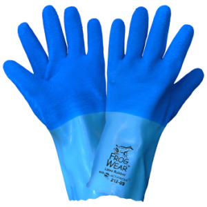 Lined Chemical Handling Latex Gloves