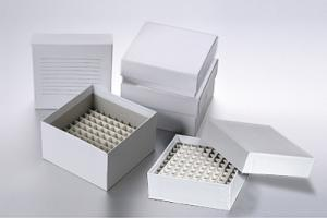 Cardboard Cryo Freezer Box