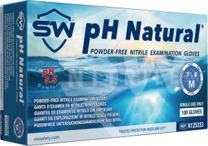 pH Natural Nitrile Powder-Free Exam Gloves