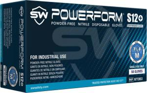 PowerForm S12  Nitrile Powder-Free Gloves