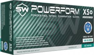 PowerForm X5  Nitrile Powder-Free Exam Gloves