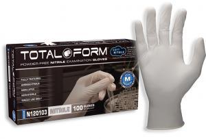 TotalForm Nitrile Powder-Free Exam Gloves