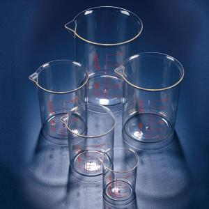 Azlon Polymethylpentene Beakers with Printed Graduations