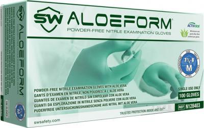 AloeForm Nitrile ACTIValoe Powder-Free Exam Gloves