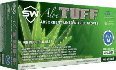 AloeTuff Nitrile Powder-Free Gloves
