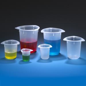 Tri-Corner Polypropylene Beaker, Economy Style