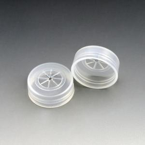 Caps with Cross Cuts for Sample Cups