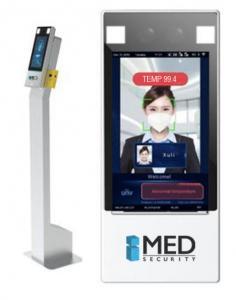 Digital Gatekeeper Face Mask and Temperature Scanner