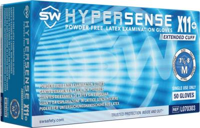 Hypersense X11  Latex Powder-Free Exam Gloves