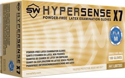 Hypersense X7 Latex Powder-Free Exam Gloves