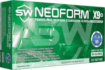 NeoForm X9  Chloroprene Powder-Free Exam Gloves