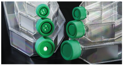 Plugged Cap Cell Culture Flasks