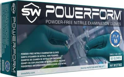 PowerForm Nitrile Powder-Free Exam Gloves