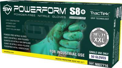 PowerForm S8  Nitrile Powder-Free Gloves