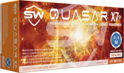 Quasar X7  Nitrile Powder-Free Exam Gloves