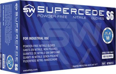 Supercede S6 Nitrile Powder-Free Gloves