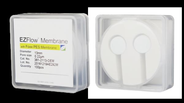 90mm Foxx Life Sciences 361-3811-OEM EZFlow Membrane Disc Filter Non-Sterile 0.45/µm PES
